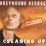 Greyhound George Cleaning Up